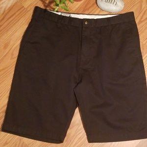Black volcom shorts 36